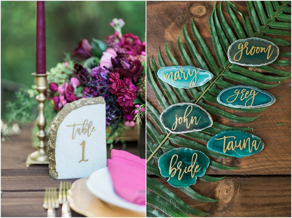 Emerald & Magenta Styled Shoot