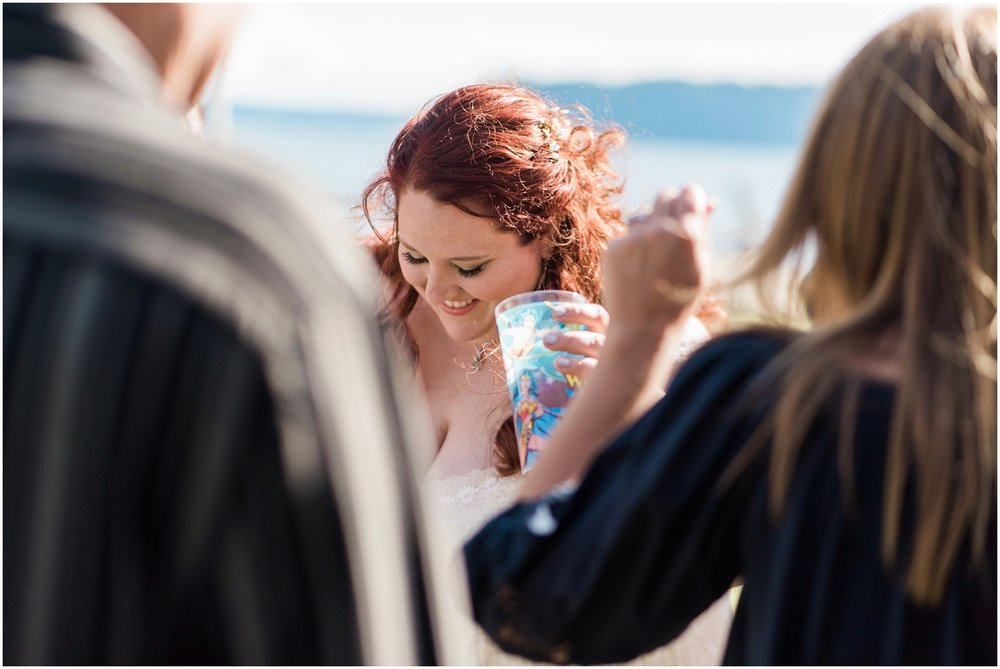 beach wedding, PNW wedding photography, Tulalip, geek chic, off beat wedding, bbq, casual wedding