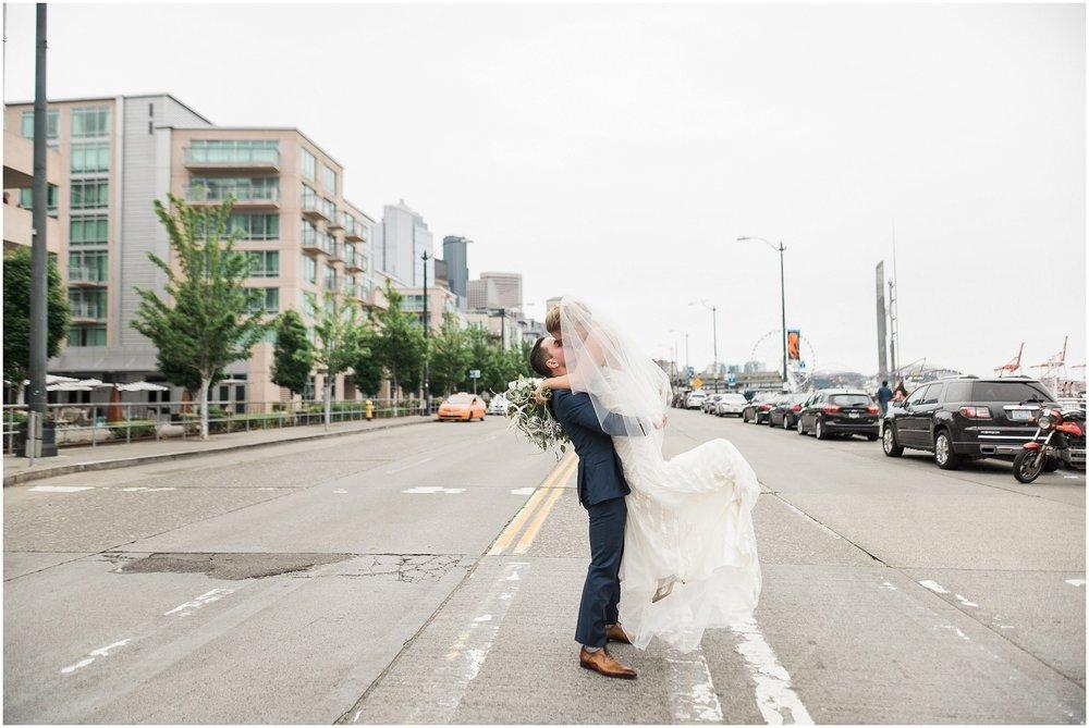 World Trade Center, Nautical wedding, kendra scott, jimmy choo, nordstrom, seattle waterfront, PNW Wedding, Honeycrumb bakery, mermaid wedding, sequins, elegant