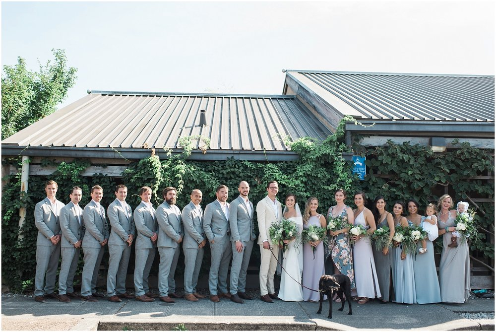 Minimalist, bold, garden wedding, BHLDN, PNW Bride, Seattle, Horticulture, PNW is Best, Classic Wedding, Minimalism