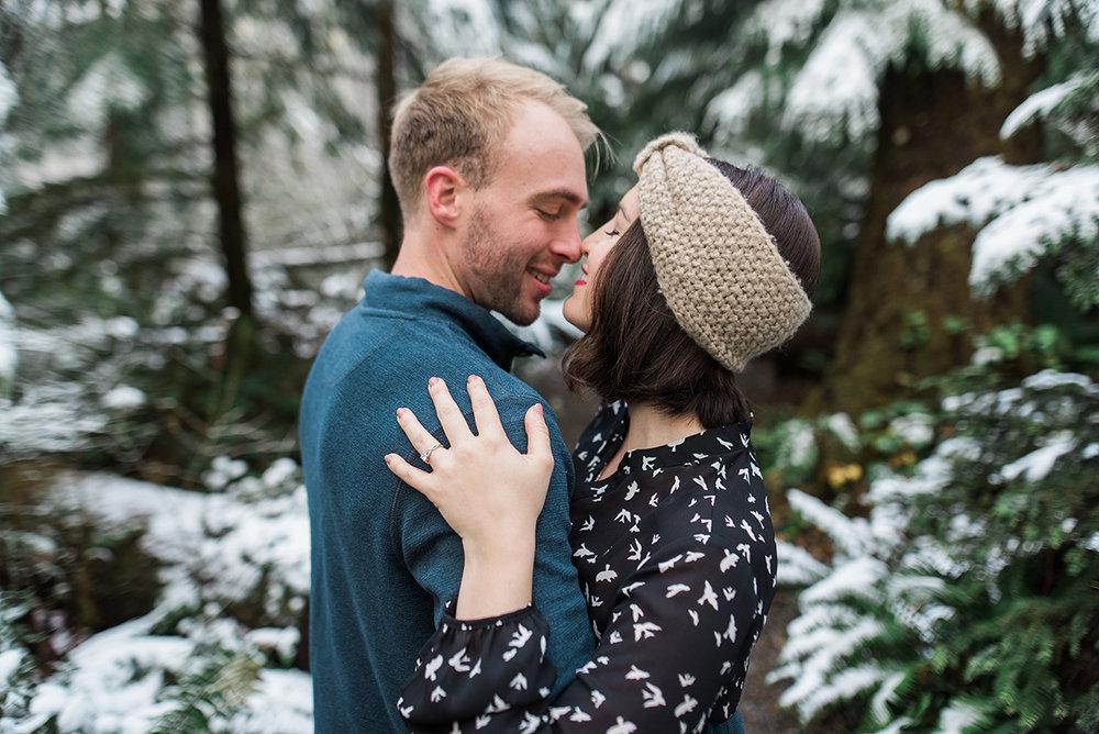 Winter Cabin Honeymoon