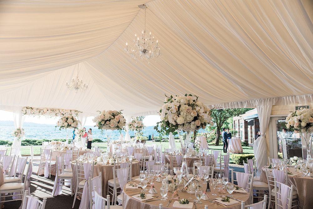 Best White Tent Wedding Venues In The Pnw Seattle Wedding