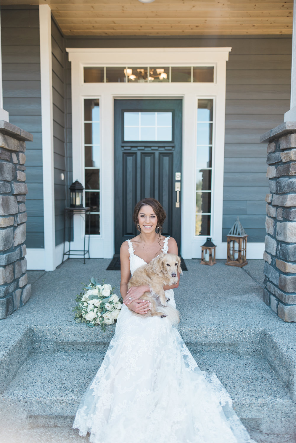 Weddings with Dogs, Seattle Wedding Photographer, B. Jones Photo