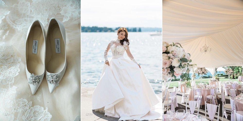 Woodmark Hotel Seattle Waterfront Wedding, Seattle Wedding Photo
