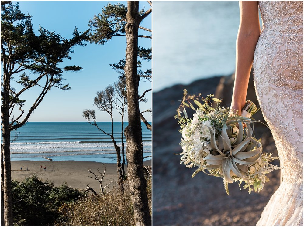 Seabrook Destination Wedding. Ocean Shores. Pacific Beach. Forks. Coastal Wedding. PNW wedding. Seabrook Washington. Beach Destination Wedding.