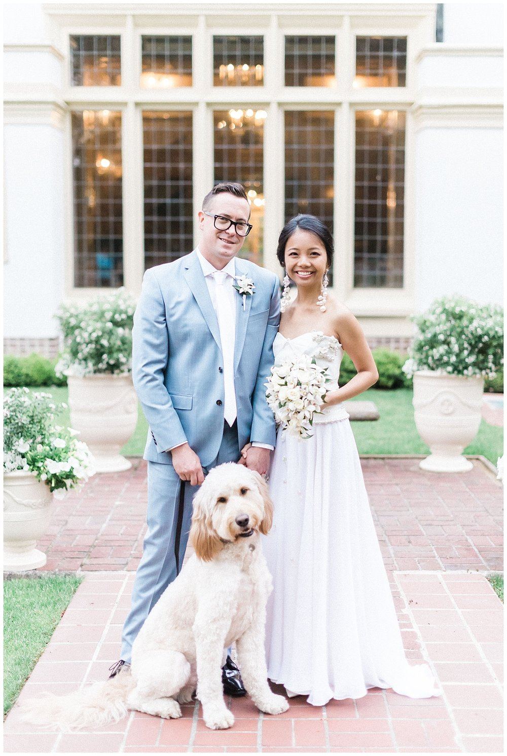 Lairmont Manor Wedding with dog -- Bellingham Wedding Photograph