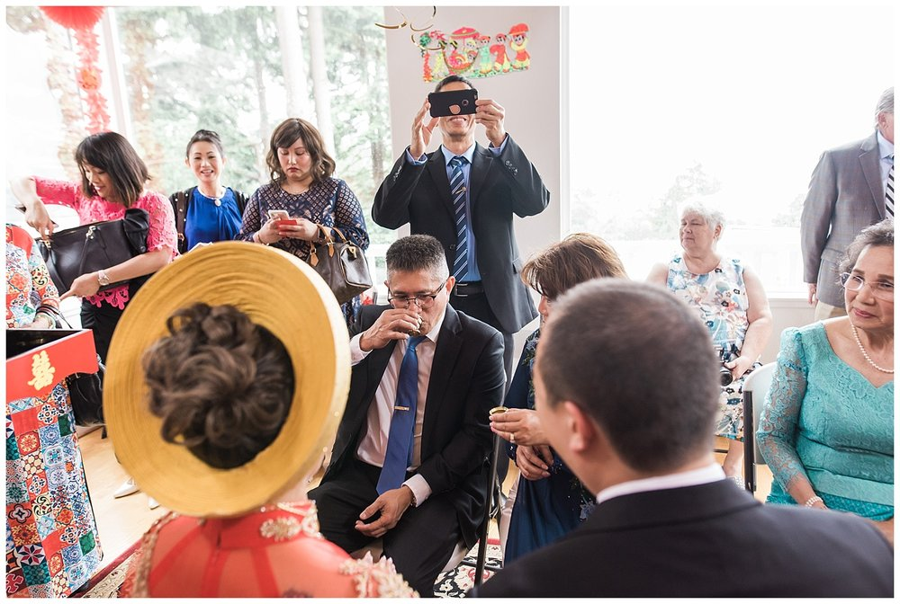 Vietnamese and Cambodian Tea Ceremony. Seattle Wedding Photograp