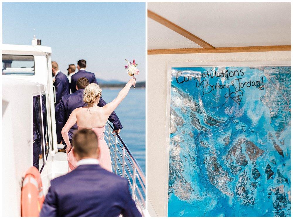 San Juan Island, Whale Watching Charter Wedding, Friday Harbor,