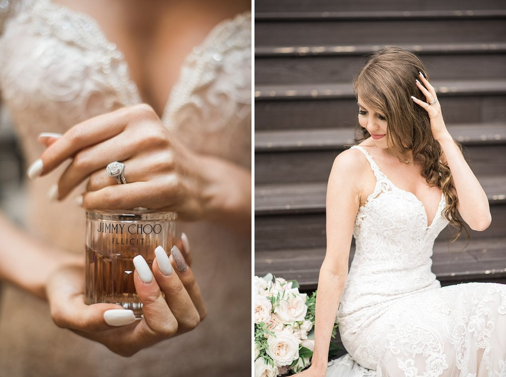 Must have shot of your wedding day perfume! Trinity Tree Farm We
