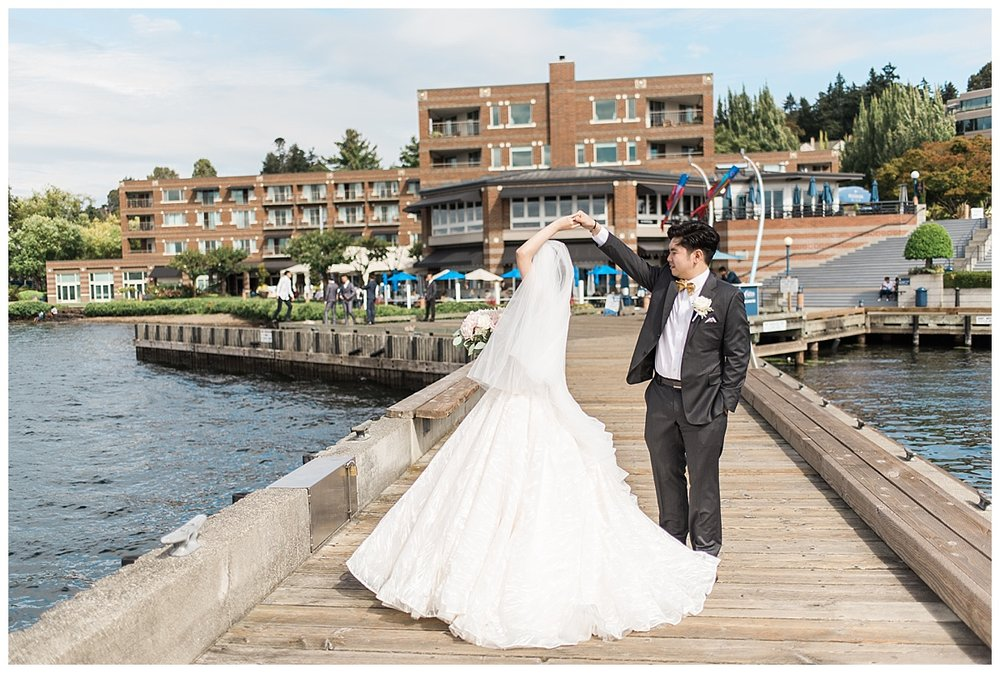Woodmark Hotel  Seattle Wedding Photography, Snohomish Wedding P
