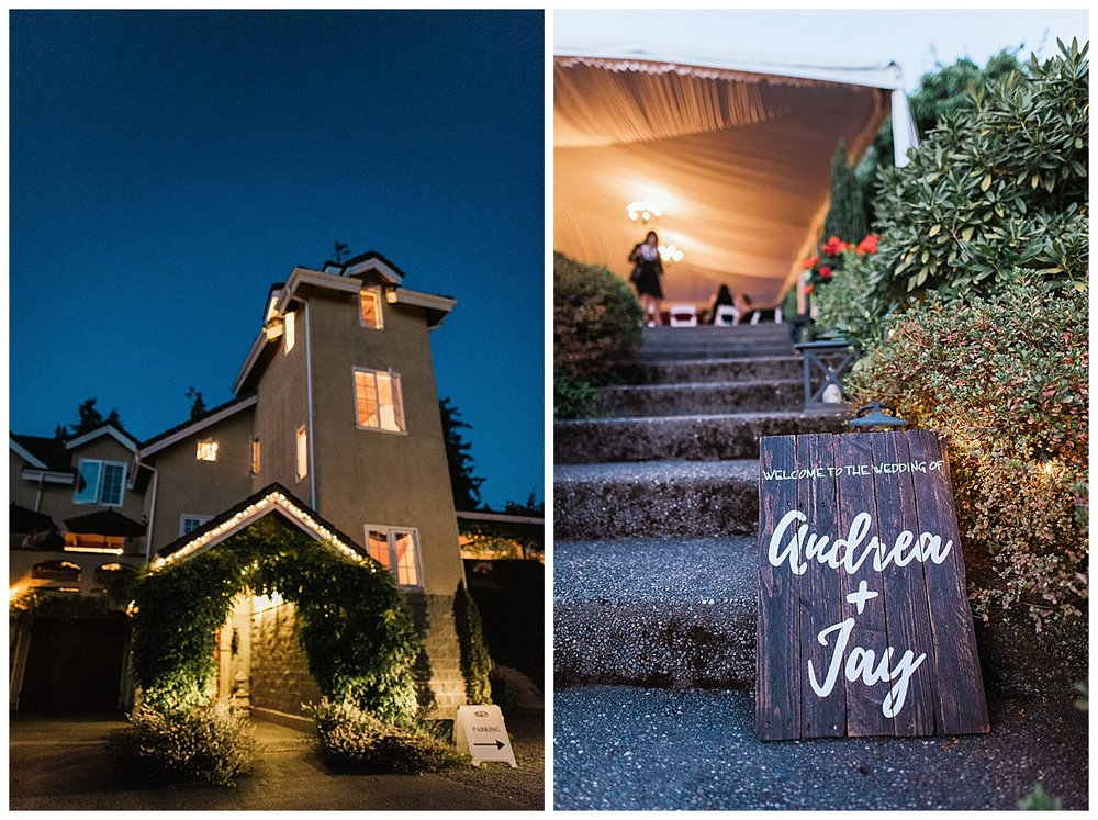 Chateau Lille wedding, Winter indoor PNW wedding, lodge, delille