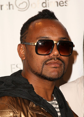 Allan Pineda Lino (apl.de.ap) - Filipino born rapper and member of The Black Eyed Peas was adopted when he was 14 years old.[image from Look to the Stars]