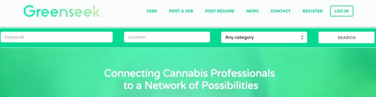 Greenseek site screenshot