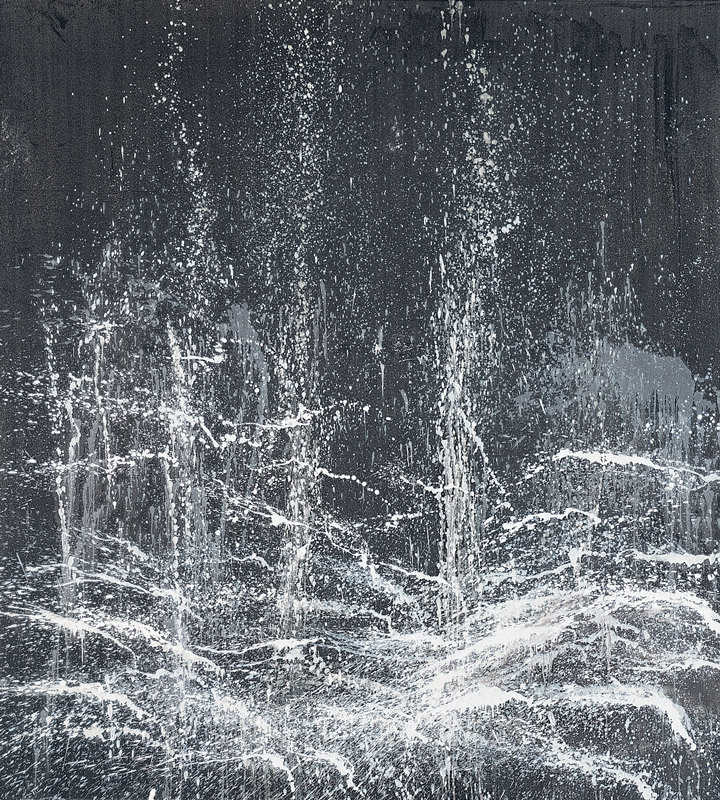 Evening Waterfall , Pat Steir
