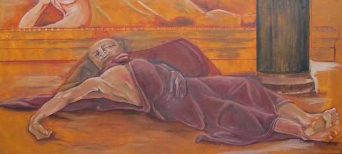 Sleeping and Dying progress III
