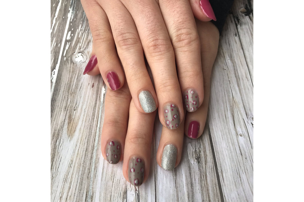 Mani by Courtney @ Buff + File Nail Bar, Portsmouth NH