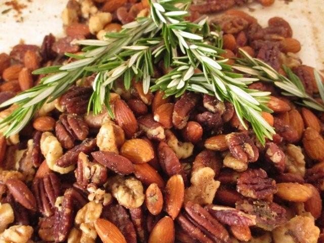 Homemade Maple Granola With Walnuts, Dates And Pomegranate Infused ...