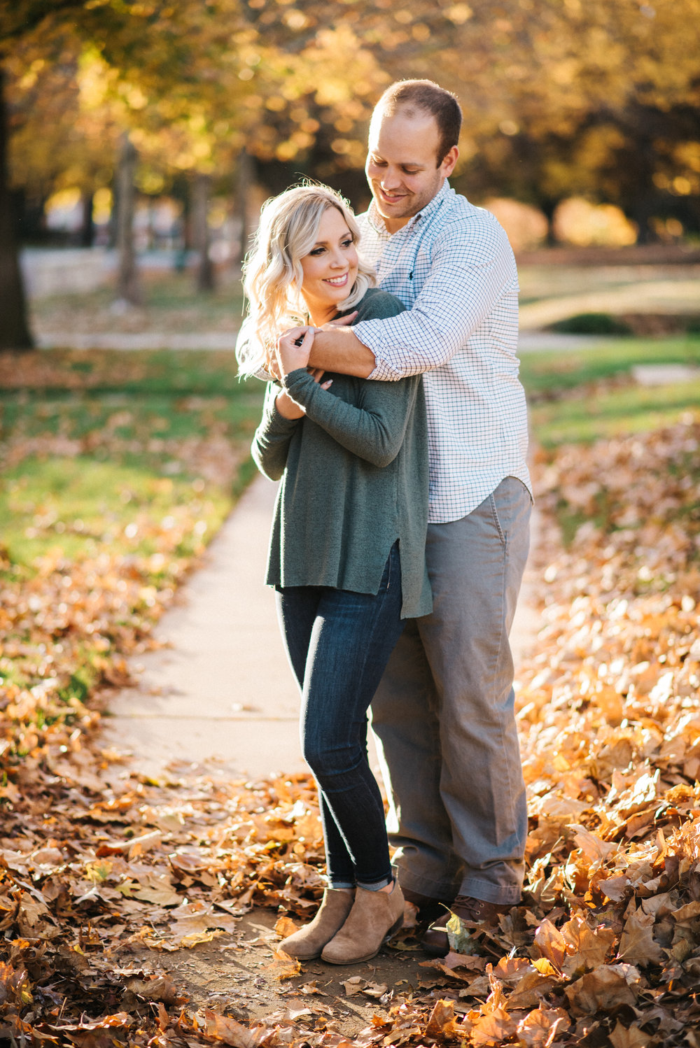 Oklahoma City Engagement session