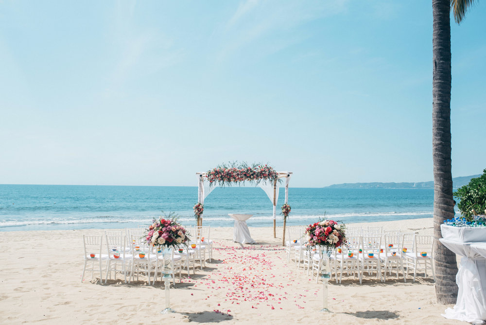 Riu Vallarta mexico wedding