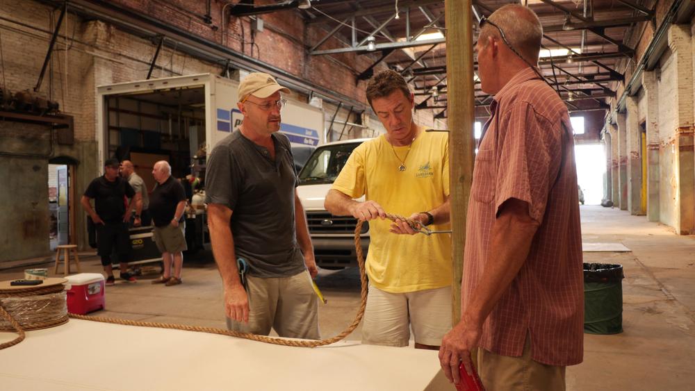 Prop gents, Steve Erdberg and Scott Remington.