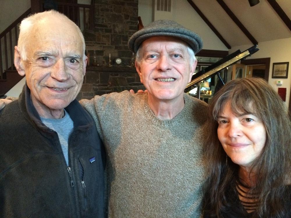 At the studio, Gary, Marilyn and Richard.JPG