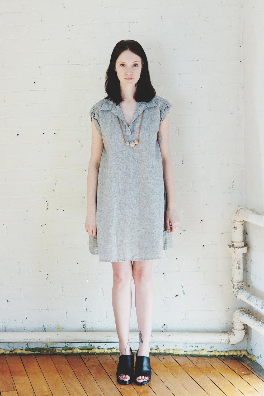 Amanda Moss Birchview dress with forestiere Ceramic necklace.jpg