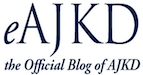 Click the eAJKD logo to go to in depth information about the renal replacement therapy region.