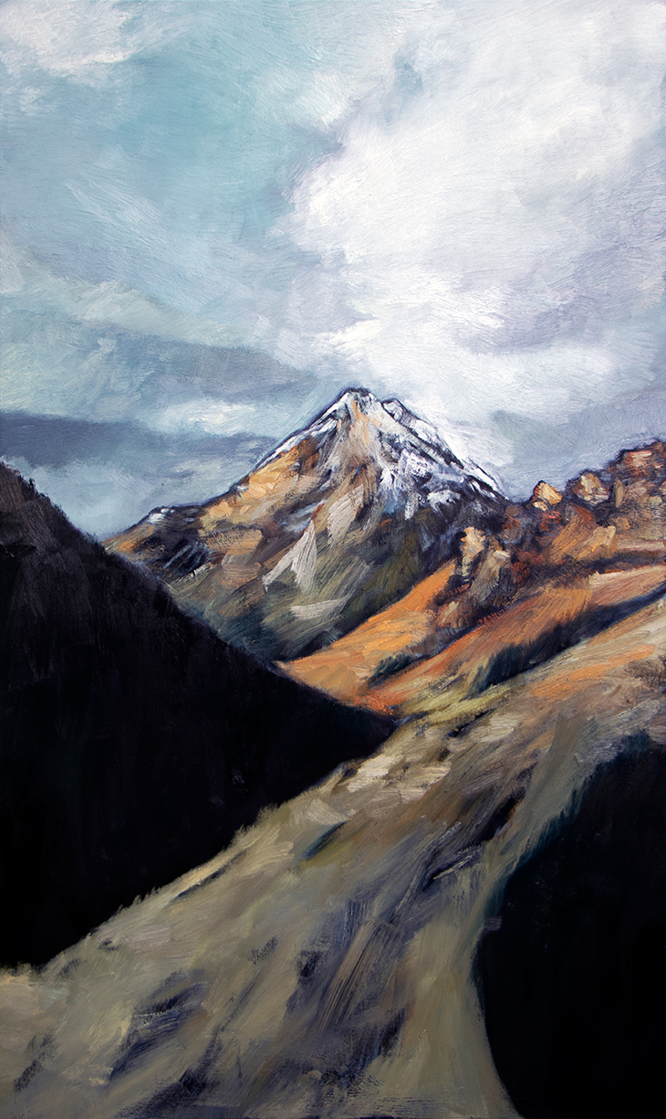 Near Glenorchy 2018 / Oil on canvas (SOLD)