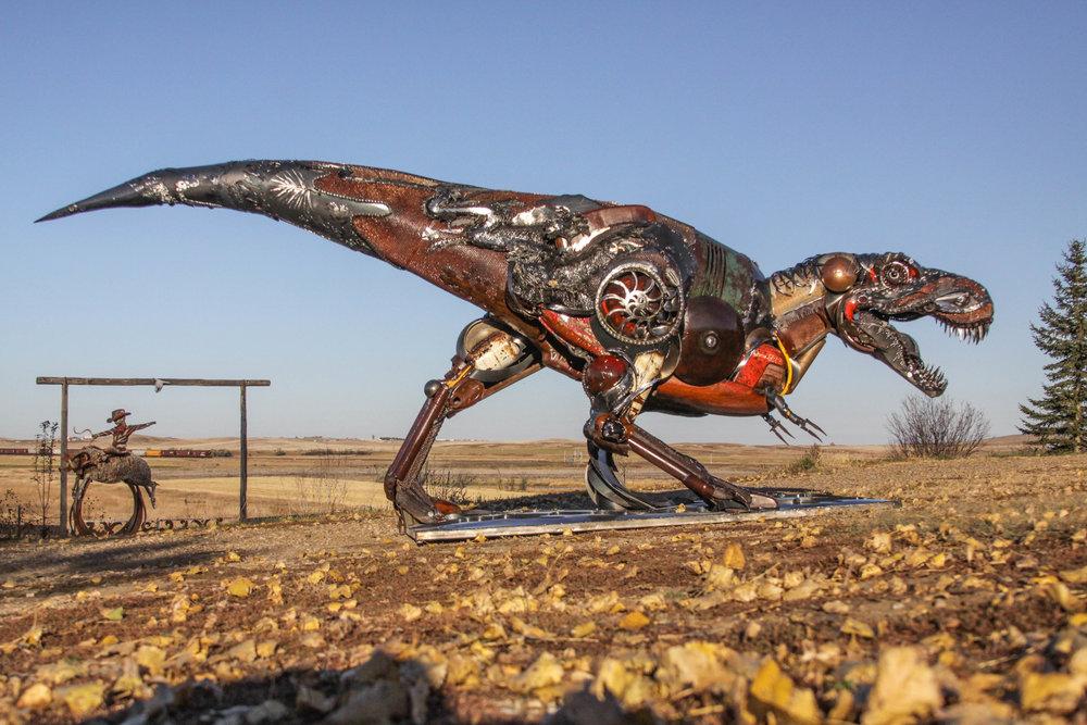 T. rex — John Lopez Studio