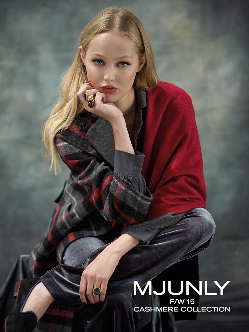 MJUNLY FW15 CASHMERE COLLECTION
