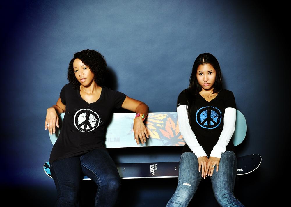 Dawn and Teressa on bench vginette.jpg