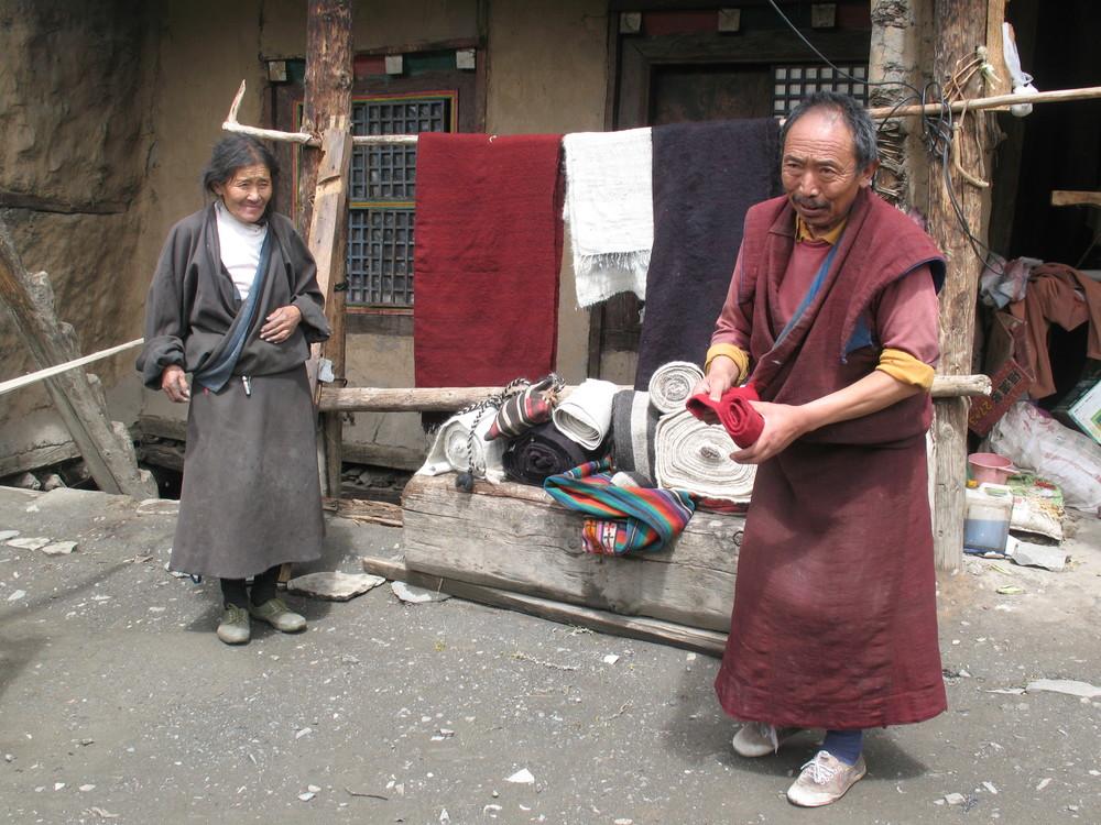 Dzongsar weaving school