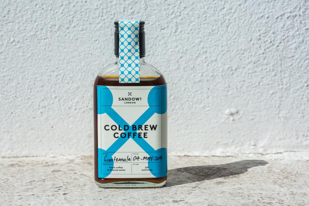Sandows London Cold Brew Coffee
