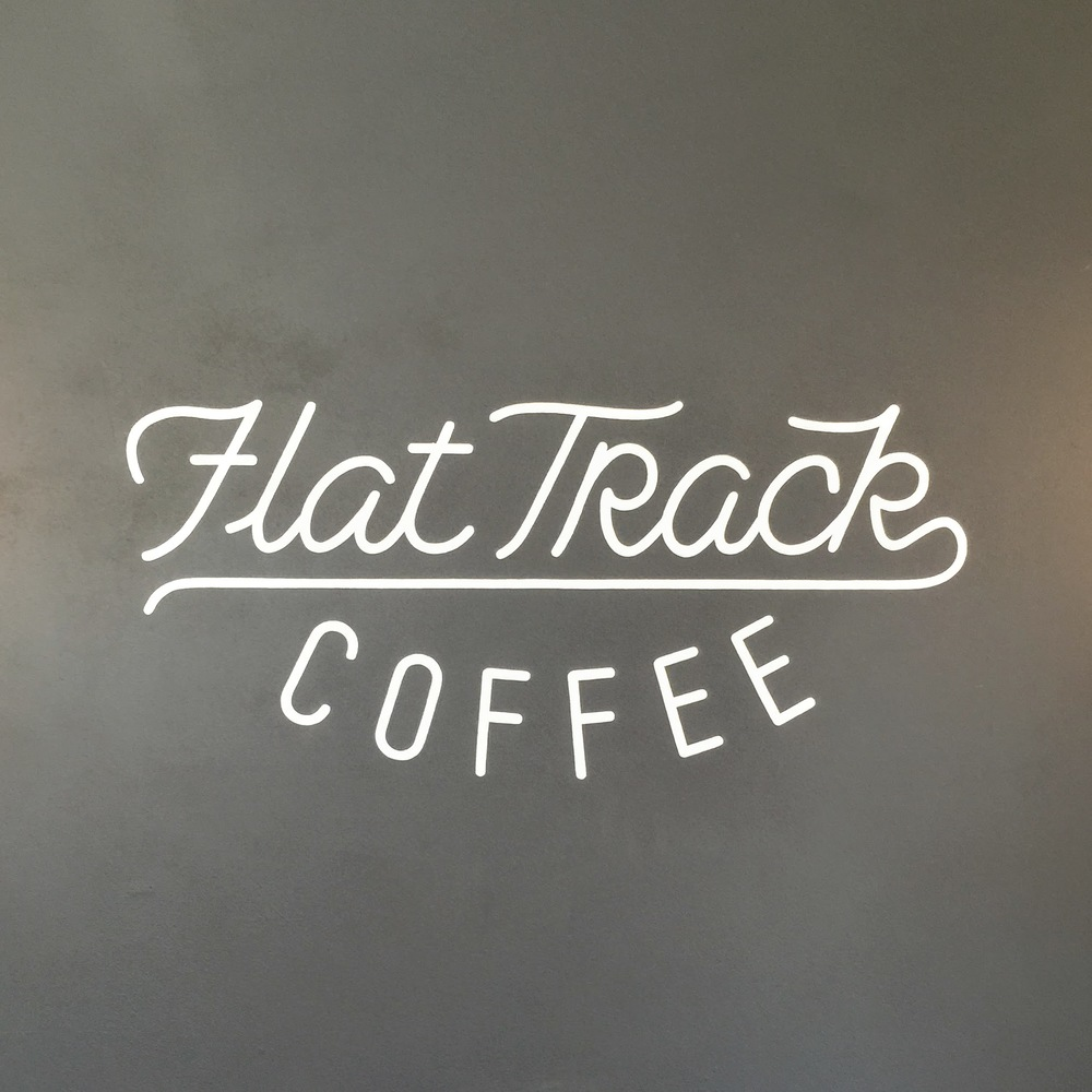 Flat Track Coffee Roasters ( LINK ) - Tiny shop located in the back of Farewell Books