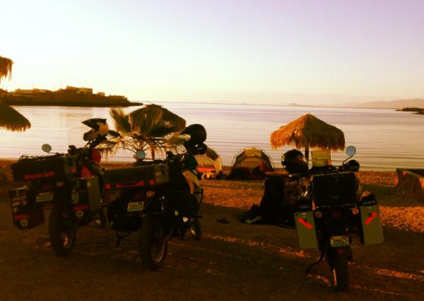 Puertecitos camping