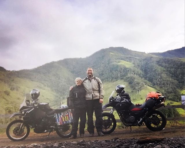 Believe it or not - we made it to Bogota!  Now the adventure part of the trip is over.  Hopefully we'll have a few slow days and then on to Florida.  #CarowAdventure