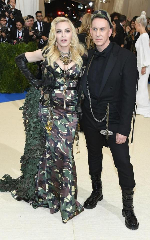 MET BALL - 2017 Not everyday you get to work with Madonna and Jeremy Scott to help put this wild look together.