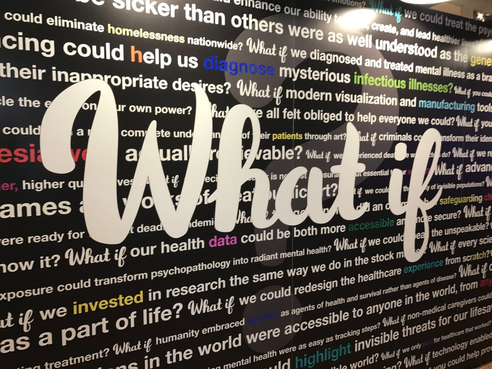 The theme of this year's TEDMED: What if?