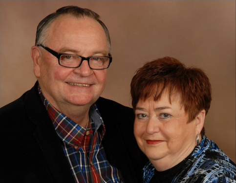 Jim and Sue Hackney -