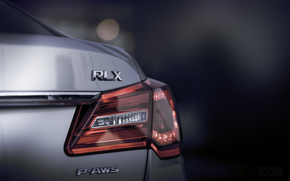 The 2015 Acura RLX.