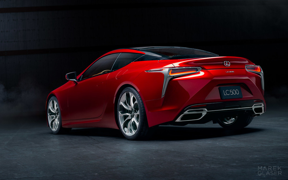 The All-New 2017 Lexus LC500