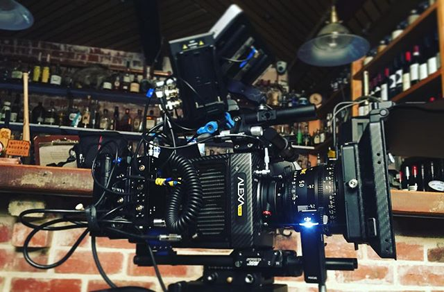 It was a big hustle but it was also an #alexamini #Zeiss #ultraprimes kind of day. #Directorofphotography #commercial  #teradek  #brighttangerine #djifocus