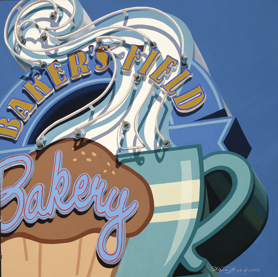BAKERS FIELD BAKERY | OIL ON LINEN | 20X20