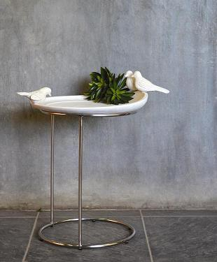 Co-Creative Studio Birdbath Natural Stone All-Weather Tray Table.jpg