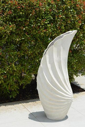 Co-Creative Studio Angel Wing Natural Stone All-Weather Planter.jpg