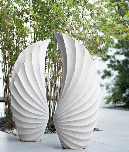 Co-Creative Studio Angel Wing Natural Stone All-Weather Planters.jpg