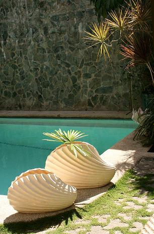 Co-Creative Studio Clam Shell Natural Stone All-Weather Planters.jpg