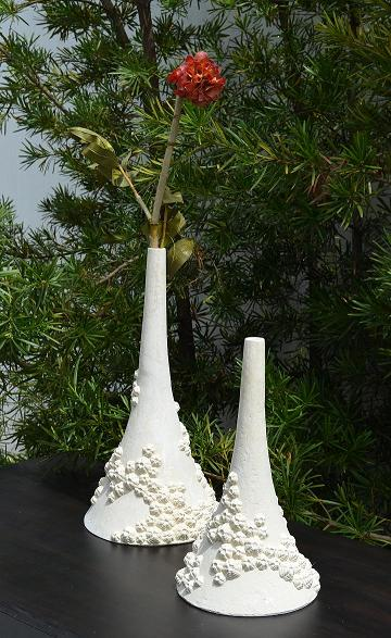 Co-Creative Studio Round Coral Natural Stone All-Weather Vases.jpg