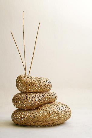 Co-Creative Studio Ringo Natural Light Coconut Shell Home Accessories Stackable Vases.jpg