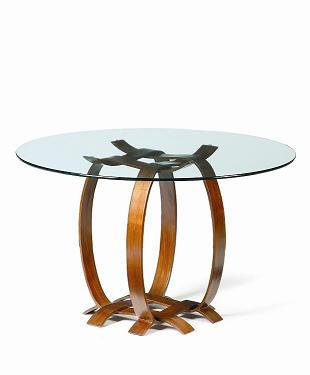 Co-Creative Studio, Detalia Aurora Walnut Veneer Dining Table.jpg